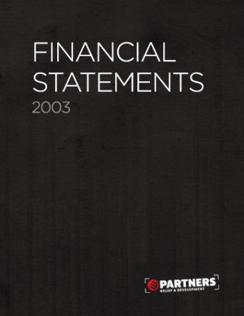 Financial Statements 2003