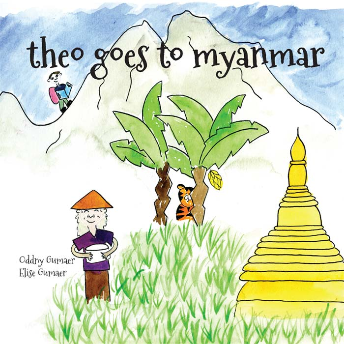 Theo Goes To Myanmar Book Cover